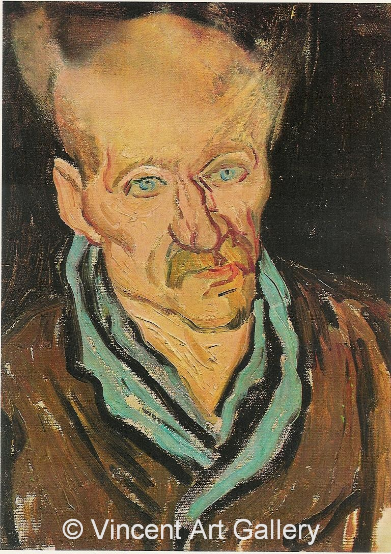 JH1832, Portrait of a Patient in Saint-Paul Hospital